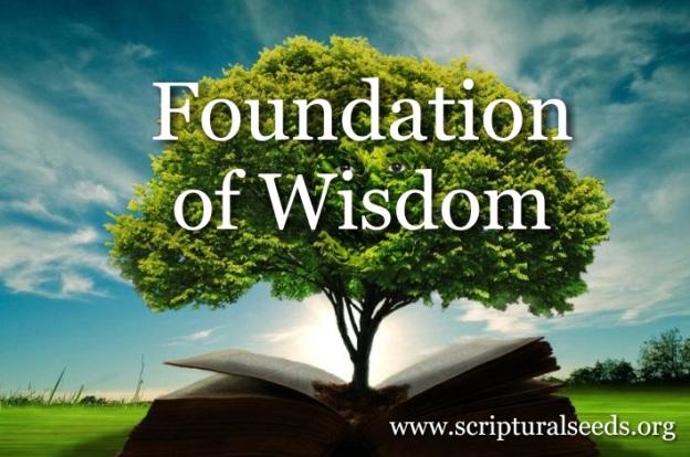 Proverbs 1:7 | Scriptural Seeds Ministries