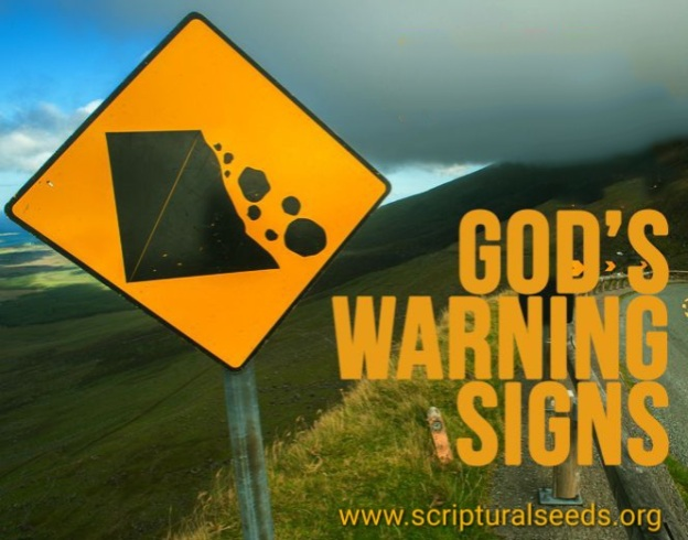 January 26th 2018 – God's Warning Signs | Scriptural Seeds